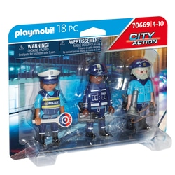 70669 - Playmobil City Action - Equipe de policiers