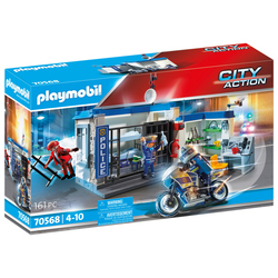 70568 - Playmobil City Action - Le poste de police et cambrioleur