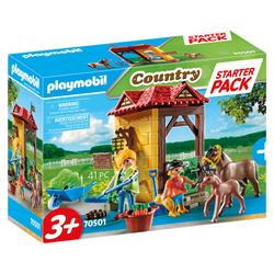 70501 - Playmobil Country - Starter Pack Box et poneys