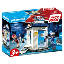 70498 - Playmobil City Action - Starter Pack Bureau de police
