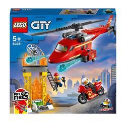 60281 - LEGO® City - L'hélicoptère de secours des pompiers
