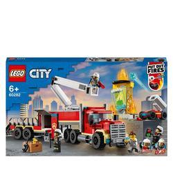 60282 - LEGO® City - L'unité de commandement des pompiers