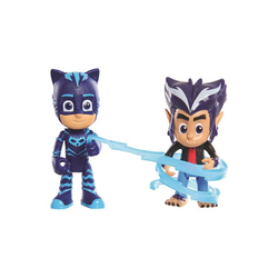 2 figurines Pyjamasques Yoyo et Howler 7.5 cm