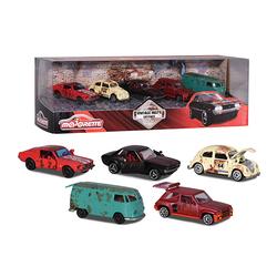 Coffret 5 voitures vintage Majorette