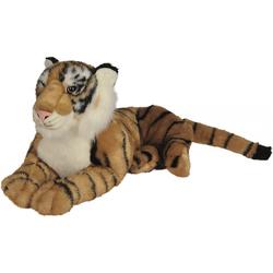 Peluche tigre brun 60 cm