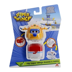 Figurines Super Wings Flip surprise Donnie et Astra