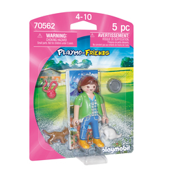 70562 - Playmobil - Femme avec chatons