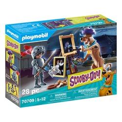 70709 - Playmobil Scooby-Doo avec le chevalier noir
