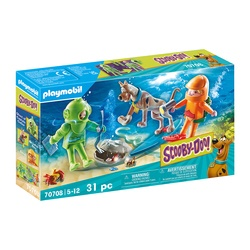 70708 - Playmobil Scooby-Doo et le Capitaine Cutler
