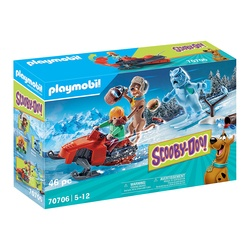 70706 - Playmobil Scooby-Doo avec spectre des neiges