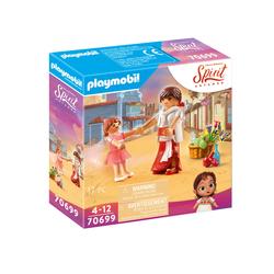 70699 - Playmobil Spirit - Lucky enfant avec Milagro