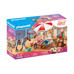 70696 Playmobil Spirit - Etal de friandises de Miradero