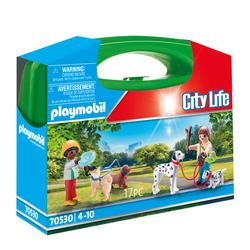 70530 - Playmobil City Life - Valisette Enfants et chiens