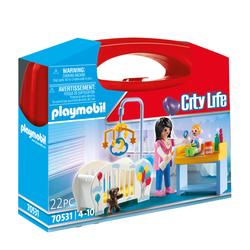 70531 - Playmobil City Life - Valisette Chambre de bébé
