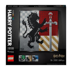 31201 - LEGO® Art - Harry Potter™ Les blasons de Poudlard