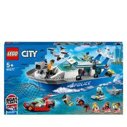 60277 - LEGO® City -  Le bateau de patrouille de la police