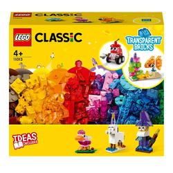 11013 - LEGO® Classic - Briques transparentes créatives