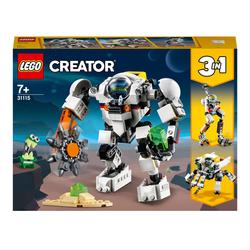 31115 - LEGO® Creator - Le robot d'extraction spatiale