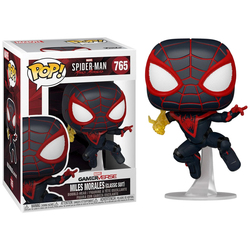 Figurine Spiderman Miles Morales (Classic Suit) Edition Chase - Funko Pop - Edition Limitée