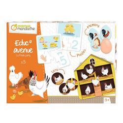 Educ'Avenue - La poule party