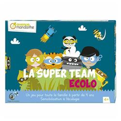 Jeu de plateau La Super Team Écolo
