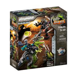 70624 - Playmobil Dino Rise - Tyrannosaure et le robot géant