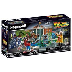 70634 - Playmobil Retour vers le Futur - Course d'hoverboard