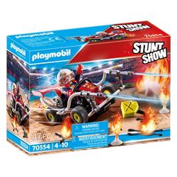 70554 - Playmobil Stuntshow - Véhicule et pompier