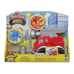 Pâte à modeler - Petit Camion de Pompier Play-Doh Wheels