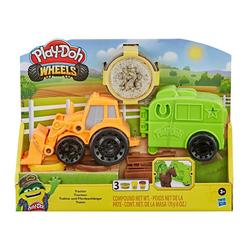 Pâte à modeler - Le Tracteur - Play Doh Wheels