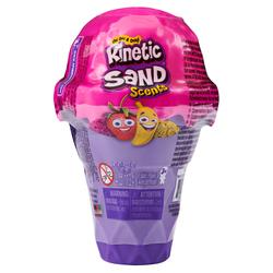 Kinetic Sand - Sable magique parfumé à modeler - Cornet de glace