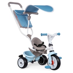 Tricycle évolutif Baby Balade Plus bleu