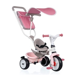 Tricycle évolutif Baby Balade Plus rose