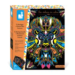 Les ateliers du calme - Coloriage fluo mandalas animaux