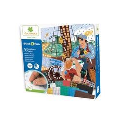 Kit de mini mosaïques Pirates