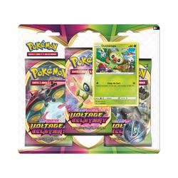 Coffret Pokémon Pack 3 Boosters Pokday Voltage Eclatant