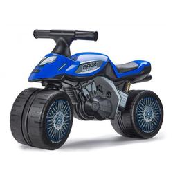 Porteur Moto bleue