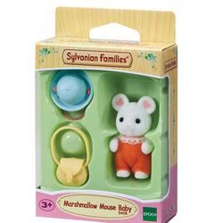 Sylvanian Families - 5408 - Le bébé souris Marshmallow