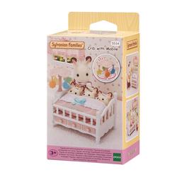 Sylvanian Families - 5534 - Le lit de bébé et mobiles