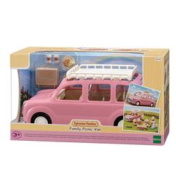 Sylvanian Families - 5535 - Le monospace rose et set de pique-nique