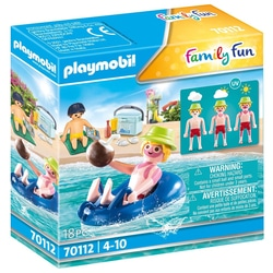 70112 - Playmobil Family Fun - Vacancier avec bouée