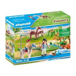 70512 - Playmobil Country - Randonneurs et animaux