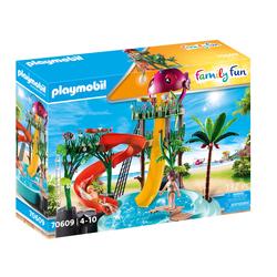 70609 - Playmobil Family Fun - Parc aquatique avec toboggans