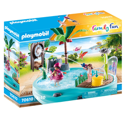 70610 - Playmobil Family Fun - Piscine avec jet d'eau