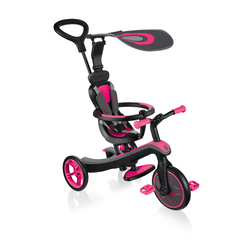 Tricycle et draisienne Trike -  4 en 1- Rose