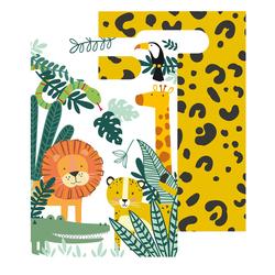 8 sachets en papier Jungle