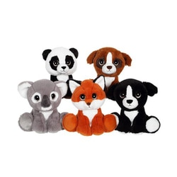 Peluches Puppy Eyes Pets nature en assortiment
