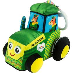 Tracteur en peluche John Deere