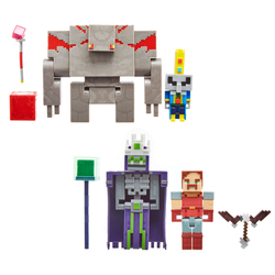Minecraft Dungeons - Pack 2 mini figurines 8cm
