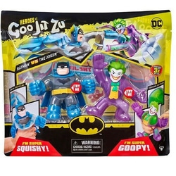 Pack figurines Goo jit Zu Batman et Joker